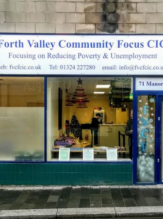 Forth Valley Community Focus shop