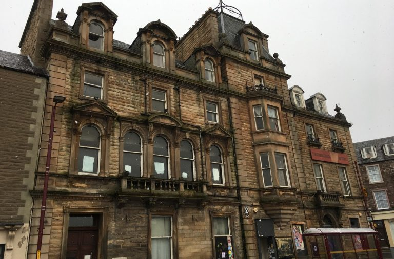 The Drummond Arms Hotel in Crieff