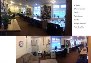 Inside Leuchars Co working Hub